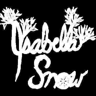 Isabella-Snow-Logo-White-600x600